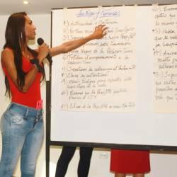 Taller de Prevención Combinada del VIH realizado por Kimirina y apoyado por la Asociación Silueta X Trans en Quito (15)