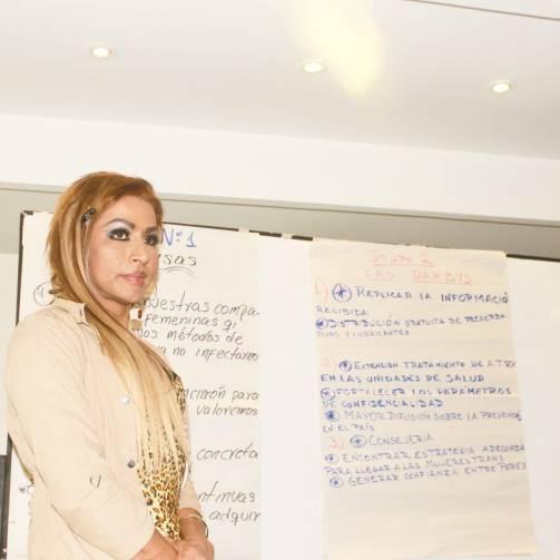 Taller de Prevención Combinada del VIH realizado por Kimirina y apoyado por la Asociación Silueta X Trans en Quito (20)