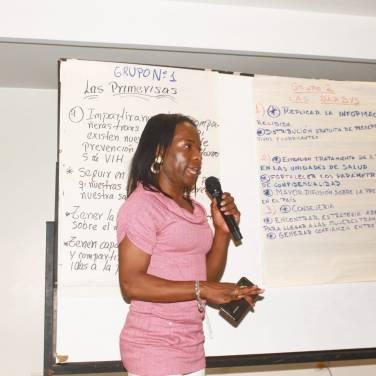 Taller de Prevención Combinada del VIH realizado por Kimirina y apoyado por la Asociación Silueta X Trans en Quito (22)