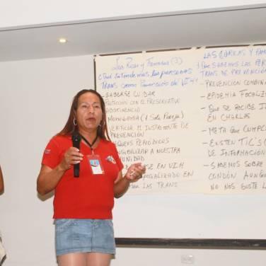 Taller de Prevención Combinada del VIH realizado por Kimirina y apoyado por la Asociación Silueta X Trans en Quito (8)