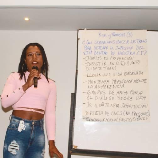 Taller de Prevención Combinada del VIH realizado por Kimirina y apoyado por la Asociación Silueta X Trans en Quito (9)