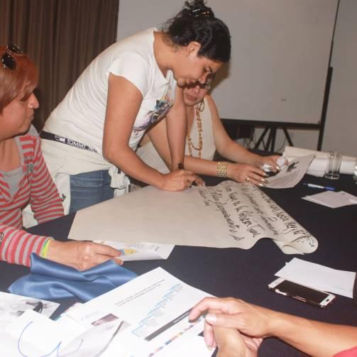 Taller de Prevención Combinada del VIH realizado por Kimirina y apoyado por la Asociación Silueta X Trans en Quito - Diane Rodriguez (2)