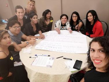Taller de Prevención Combinada realizado por la Corporación Kimirina - Asociación Silueta X Diane Rodriguez Z
