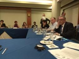 Diane Rodriguez junto a Dainius Puras relator especial de ONU para la salud mental y fisica 3