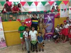Agasajo de niños con VIH - SIlueta X - Cámara LGBT - Transmasculinos Ecuador 2019 -niños enfermeddes catastroficas (50)