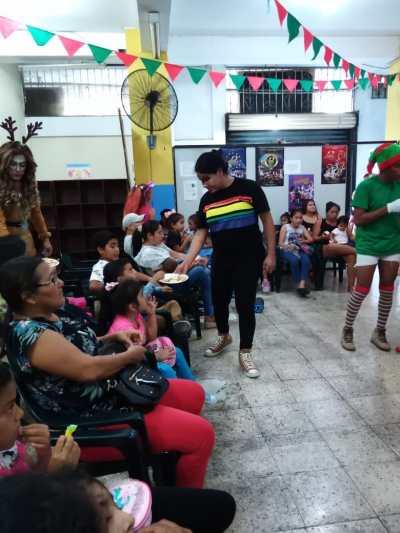 Agasajo de niños con VIH - SIlueta X - Cámara LGBT - Transmasculinos Ecuador 2019 -niños enfermeddes catastroficas (85)