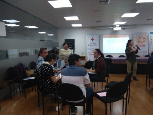 Centro Psico Trans de Silueta X participo en Taller de Trabajo con CARE Ecuador (8)