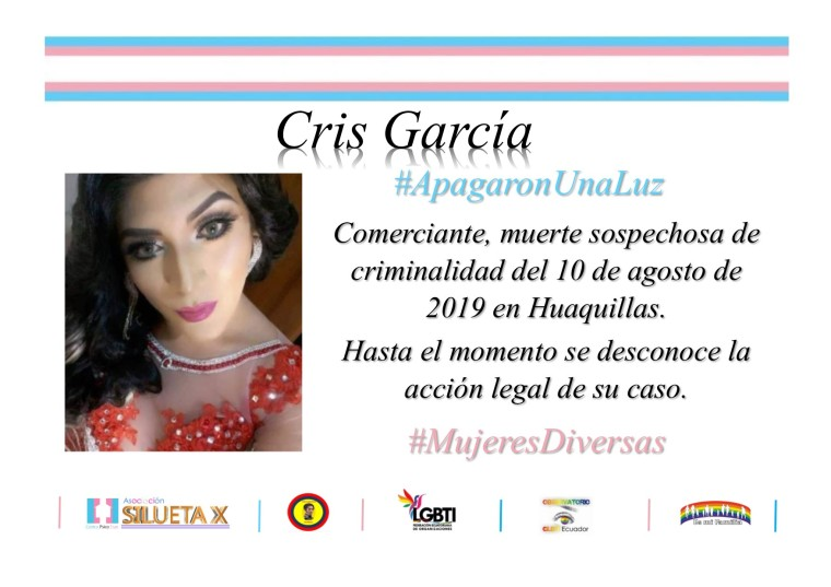 Campaña por el día internacional de la Mujer de la Asociación Silueta X y la Federación Ecuatoriana de Organizaciones LGBT 2