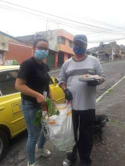 Donación de canastas y alimentos por parte de la Asociación Silueta X, centro Pisco Trans y La Camara LGBT de Comercio Ecuador - Covid19 - Apoyo Prefectura de Pichincha (8)