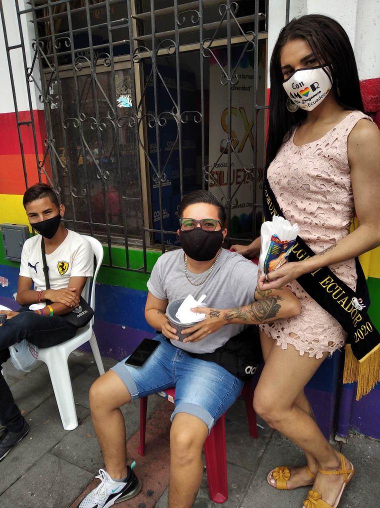 Inauguración del Primer Comedor Comunitario Trans en Guayaquil - Ecuador iniciativa de la Asociación Silueta X (11)