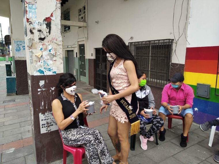 Inauguración del Primer Comedor Comunitario Trans en Guayaquil - Ecuador iniciativa de la Asociación Silueta X (13)