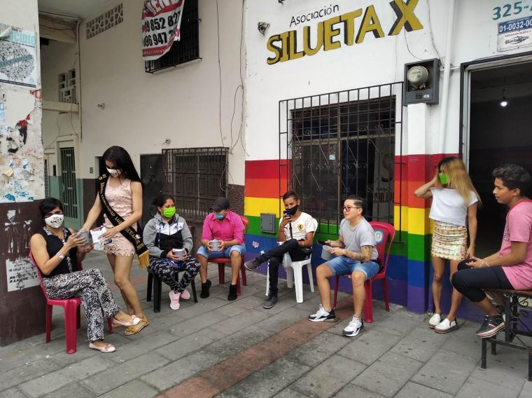 Inauguración del Primer Comedor Comunitario Trans en Guayaquil - Ecuador iniciativa de la Asociación Silueta X (16)