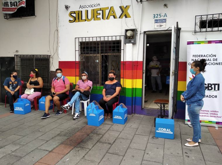 Inauguración del Primer Comedor Comunitario Trans en Guayaquil - Ecuador iniciativa de la Asociación Silueta X (23)