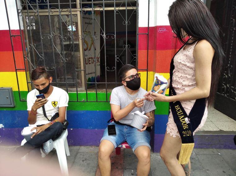 Inauguración del Primer Comedor Comunitario Trans en Guayaquil - Ecuador iniciativa de la Asociación Silueta X (8)