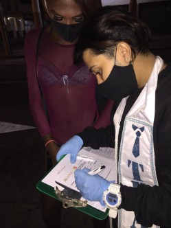 Pruebas de VIH iinerantes y meriendas ambulatorias para mujeres trans trabajadoras sexuales por parte de Asociación Silueta X (35)